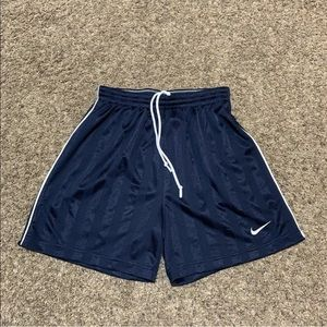 Vintage Nike Satin Athletic Shorts Mens M Striped